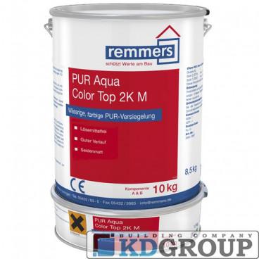 Лак Remmers PUR Aqua Color Top 2K M